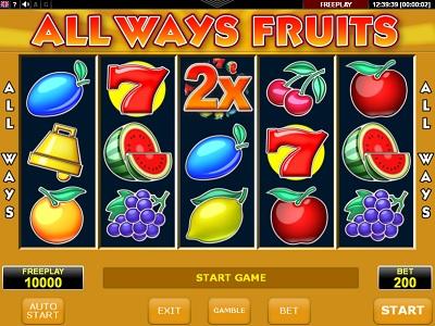 Al ways fruits