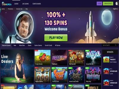 Cashiopeia beste online casino