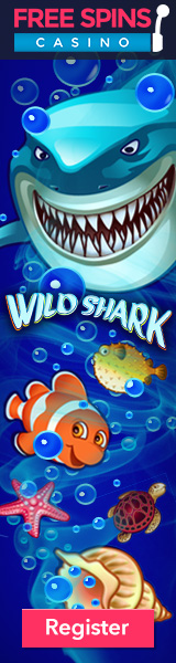 Free spins casino - Wild shark