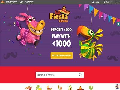 La fiesta beste online casino